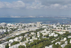 Haifa, the center of the city Stock Photo