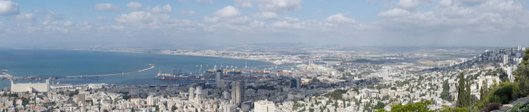Haifa, the center of the city Stock Images