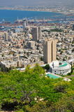 Haifa city. Nothern Israel. Stock Photography