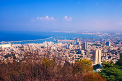 Haifa city Royalty Free Stock Photos