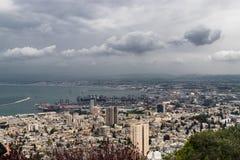 Haifa city Stock Images