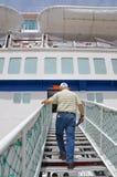 HAIFA - 19 de mayo barco de cruceros de la compañía de Mano, Israel Imágenes de archivo libres de regalías