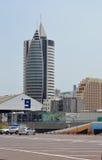 HAIFA - 19 de mayo puerto Israel el 19 de mayo de 2013 en Haif Fotografía de archivo