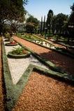 Haifa - esquina en el jardín Fotografía de archivo libre de regalías