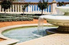 Haifa - fontanna młodość obraz royalty free