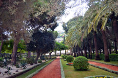 Haifa Garden images stock
