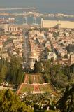 haifa I giardini di Bahai Immagine Stock