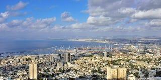 Haifa, Israël stock foto