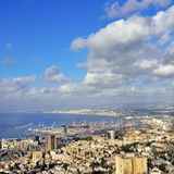 Haifa, Israël royalty-vrije stock foto's