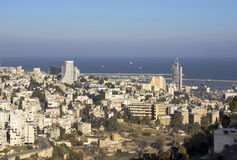 Haifa Israel Royaltyfria Foton