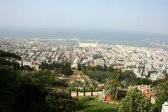 haifa israel Royaltyfri Foto