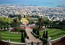 Free Haifa, Israel - Baha`i Gardens - Panoramic View Royalty Free Stock Photography - 155157107