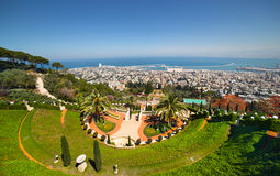 Haifa. Israel Royalty Free Stock Photography