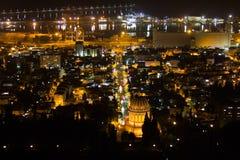 Haifa, Israel. Haifa Hebrew: חֵיפָה Hefa [χei̯ˈfa stock photos