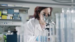 Haifa, Israel - January 30th 2020. Scientists in research labs in a hospital
