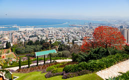 Haifa. Israel Royalty Free Stock Photos