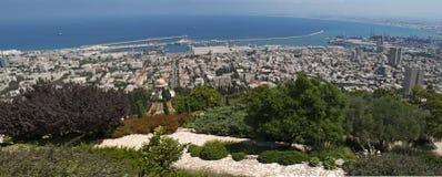 Haifa Israel, Mellanösten fotografering för bildbyråer