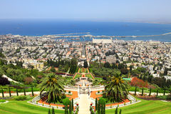 Haifa, Israele Immagini Stock Libere da Diritti