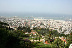 Haifa, Israele Fotografia Stock Libera da Diritti