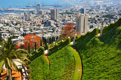 haifa l'israele Fotografia Stock