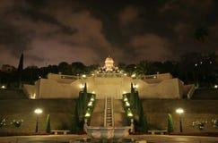 Haifa mosque and garden Royalty Free Stock Photos