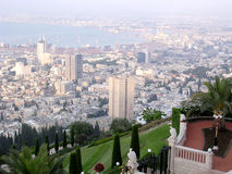 Haifa panorama 2003 Stock Photography