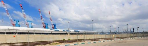 Haifa Port Royalty Free Stock Images