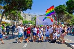 Haifa Pride Parade 2016 Photographie stock libre de droits