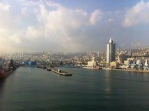 Haifa sea port Stock Photos