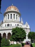 Haifa Shrine of Bab in Bahai Gardens 2003 Royalty Free Stock Image
