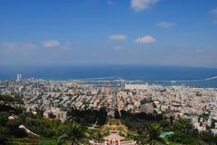 Haifa-Stadt Lizenzfreie Stockbilder