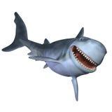 Haifisch 3d Lizenzfreie Stockbilder