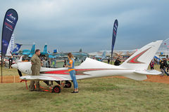 Haifisch-Einzelpersonenflugzeuge Lizenzfreie Stockfotografie