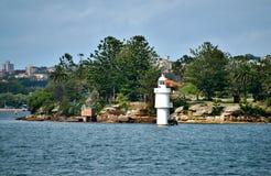 Haifisch-Insel, Sydney Stockbild