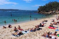 Haifisch-Strand, Nielsen Park, Vaucluse, Sydney, Australien stockbilder