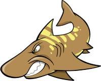 Haifisch-Vektor Lizenzfreie Stockfotos
