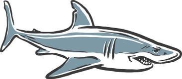 Haifischangriff Lizenzfreies Stockfoto