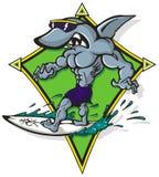 Haifischbrandung Lizenzfreies Stockbild