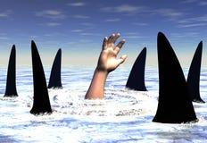 Haifische lizenzfreie abbildung