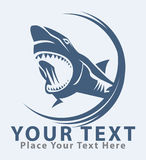 Haifischsymbol Stockfotos