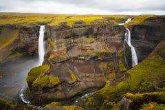 haifoss Iceland siklawa Obrazy Royalty Free