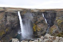 Haifoss-Wasserfall Lizenzfreies Stockfoto