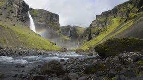 Haifoss waterfall Stock Photos