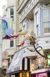 Haight Ashbury,旧金山 免版税库存图片