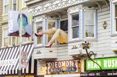 Haight Ashbury, Σαν Φρανσίσκο Στοκ Φωτογραφία