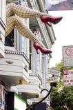 Haight Ashbury, Сан-Франциско Стоковая Фотография