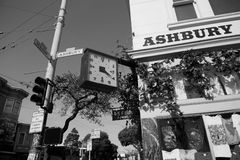 Haight-Ashbury crossing Royalty Free Stock Photography