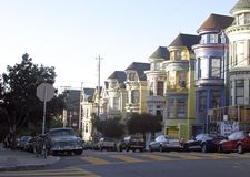 Haight-Ashbury Neighborhood, San Francisco Royalty Free Stock Image