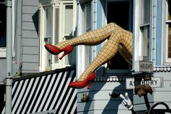 Haight ashbury san francisco Royalty Free Stock Image