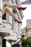 Haight Ashbury, San Francisco Fotografia de Stock